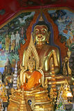 Wat Phra That Doi Suthep i Chiang Mai, Thailand Arkivbild