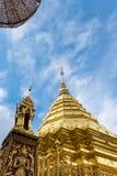 Wat Phra That Doi Suthep la destinazione turistica popolare di tailandese Fotografie Stock Libere da Diritti