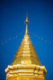 Wat Phra That Doi Suthep. Is located at the top of Doi Suthep mountain and is one of Chiang Mai most famous temples Stock Photography