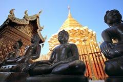 Wat Phra That Doi Suthep is a major tourist destin Stock Images