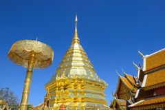 Wat Phra That Doi Suthep Royalty Free Stock Photo