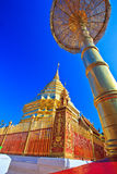 Wat Phra That Doi Suthep in the north of Thailand Stock Image
