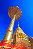 Wat Phra That Doi Suthep in the north of Thailand Royalty Free Stock Photo