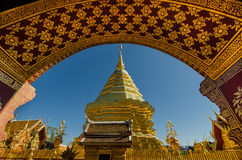 Wat Phra That Doi Suthep. Popular historical temple in the north of Thailand Stock Photography