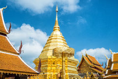 Wat Phra That Doi Suthep, Popular temple in Chiang Mai, Thailand Stock Photo
