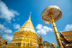 Wat Phra That Doi Suthep, Popular temple in Chiang Mai, Thailand Royalty Free Stock Photography