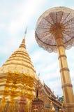Wat Phra That Doi Suthep, Popular temple in Thailand Stock Photos