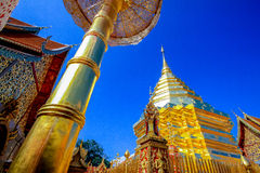 Wat Phra That Doi Suthep Ratchwarawihan Imagem de Stock Royalty Free