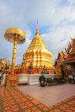 Wat Phra That Doi Suthep,Tambon Suthep,Amphoe Mueang,Chiang Mai Province,northern Thailand. Theravada temple on top of Doi Suthep Hill,finds the revered golden Stock Photo