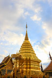 Wat Phra That Doi Suthep,Tambon Suthep,Amphoe Mueang,Chiang Mai Province,northern Thailand. Theravada temple on top of Doi Suthep Hill,finds the revered golden Royalty Free Stock Image