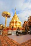 Wat Phra That Doi Suthep, Tambon Suthep, Amphoe Mueang, Chiang Mai Province, Thaïlande du nord photo stock