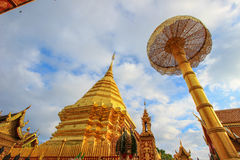 Wat Phra That Doi Suthep, Tambon Suthep, Amphoe Mueang, Chiang Mai Province, Thaïlande du nord photographie stock