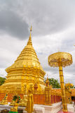 Wat Phra That Doi Suthep-Tempel Stock Foto