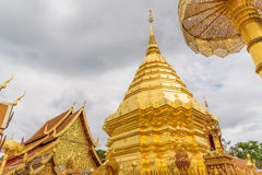 Wat Phra That Doi Suthep-Tempel Royalty-vrije Stock Foto's