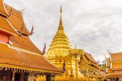 Wat Phra That Doi Suthep-Tempel Stock Foto's