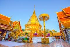 Wat Phra That Doi Suthep-Tempel, Chiang Mai, Thailand Lizenzfreies Stockfoto