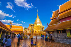 Wat Phra That Doi Suthep Stock Photography