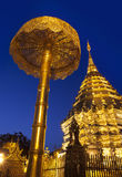 Wat Phra That Doi Suthep (Temple), Chiang Mai, Landmark and tourist attractions in Thailand. Stock Photography