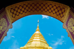 Wat phra That Doi Suthep,Temple Chiang Mai Province Royalty Free Stock Images