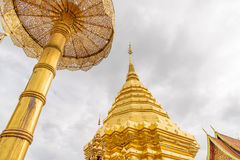 Wat Phra That Doi Suthep  temple. Wat Phra That Doi Suthep  temple in Chiang Mai Province, Thailand Stock Image