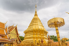 Wat Phra That Doi Suthep  temple. Wat Phra That Doi Suthep  temple in Chiang Mai Province, Thailand Stock Photography