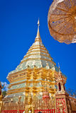 Wat phra That Doi Suthep,Temple Chiang Mai Royalty Free Stock Photography