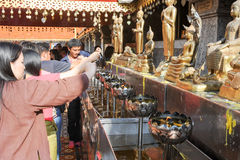 Wat Phra That Doi Suthep temple at Chiang Mai Royalty Free Stock Image