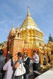 Wat Phra That Doi Suthep temple at Chiang Mai Stock Image