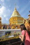 Wat Phra That Doi Suthep temple at Chiang Mai Stock Photos