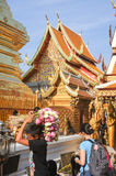 Wat Phra That Doi Suthep temple at Chiang Mai Royalty Free Stock Images