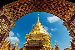 Wat Phra That Doi Suthep temple in Chiang Mai, Thailand Stock Photography