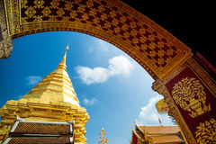 Wat Phra That Doi Suthep temple in Chiang Mai, Thailand Royalty Free Stock Photo