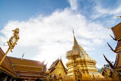 Wat Phra That Doi Suthep. In thailand Stock Photography