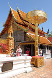 Wat Phra That Doi Suthep, Thailand stock image