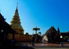 Wat Phra That Doi Suthep. Royalty Free Stock Images