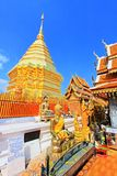 Wat Phra That Doi Suthep, Chiang Mai, Thailand Stock Photography