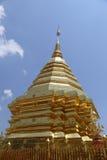 Wat Phra That Doi Suthep is toeristische attractie van Chiang Mai Stock Afbeelding