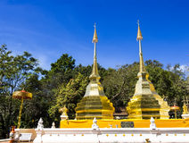 Wat Phra That Doi Tung Stock Image