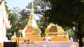 Wat Phra That Doi Tung em Chiang Rai, Tailândia filme