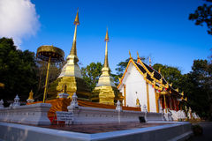 Wat Phra That Doi Tung, Tailandia Immagini Stock Libere da Diritti