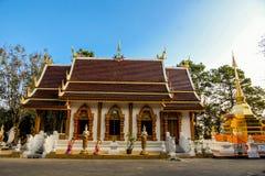 Wat Phra That Doi Tung Thailand Arkivbild