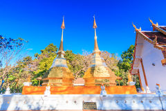 Wat Phra That Doi Tung, Thailand Royalty Free Stock Image