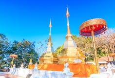 Wat Phra That Doi Tung, Thailand Royalty Free Stock Photo
