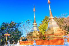 Wat Phra That Doi Tung Royalty Free Stock Images