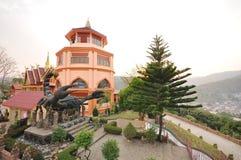 Wat Phra That Doi Wao Stock Images