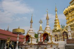 Wat Phra That Doi Wiang Chai Mongkol fotografia de stock royalty free