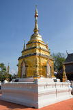 Wat Phra That Doi Yuak Pong District, Phayao, Thaïlande Photos libres de droits