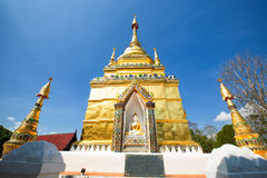 Wat Phra That Doi Yuak Pong District, Phayao, Thailand Arkivfoto