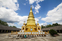 Wat Phra Duang Deaw,南奔泰国 图库摄影