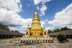 Wat Phra That Duang Deaw Lamphun Thailand Arkivbild